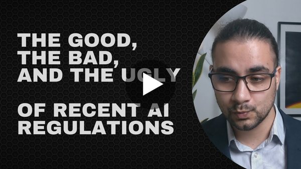 The Recent Developments Towards AI Regulation and Why It Still Needs More Work