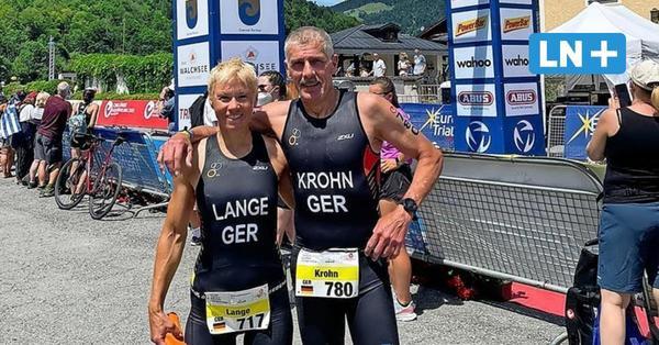 Triathlon: Doppel-Gold für Bargteheiderin Bettina Lange bei Multisport-EM