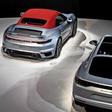 Drei neue Spitzenmodelle im Porsche Pavillon der Autostadt