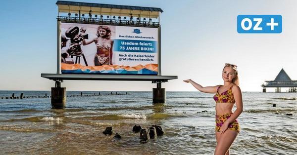 Mit Gewinnspiel für OZ-Leser: Urlauberinsel Usedom feiert 75 Jahre Bikini