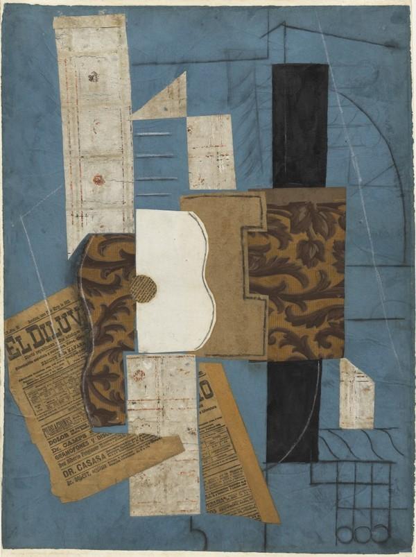 Pablo Picasso, Guitar (1913)
