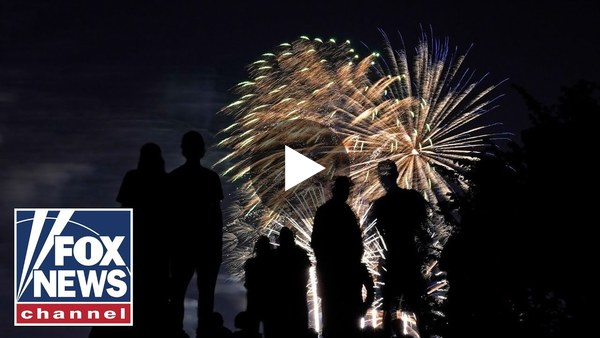 Fourth of July fireworks display in Washington, DC