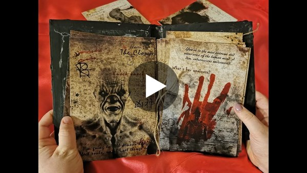 World's First Interactive Horror Book with Augmented Reality - Unboxing video - Book of Asmodeus