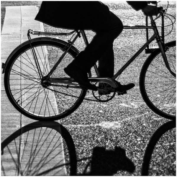 Wheels in Motion, New York City, December 2012.