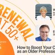 Want to boost your career? Join me Thursday, 3 pm ET