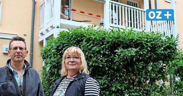 Urlauber in Kühlungsborn: In unseren Balkon ist der große Baum gestürzt