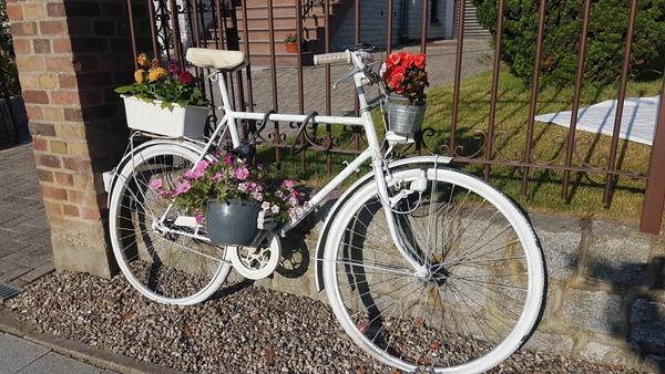 Das Rad steht in der Goethestraße Bad Doberan (Foto: Anja Levien)