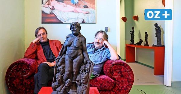 Stralsund: Wo die Merkel nackt posiert