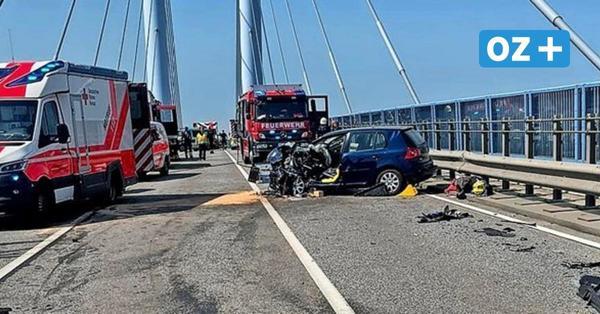Stralsund: Nach schwerem Unfall auf Rügenbrücke – Mann stirbt im Krankenhaus