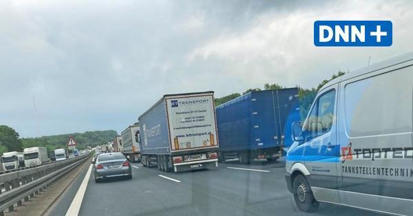 Stau auf der A 4 bei Dresden: Dauerbaustellen und Unfälle sorgen täglich für Stress