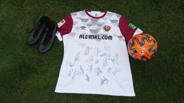 Dynamo Dresdens Tim Knipping hilft krebskrankem Leon mit Auktion