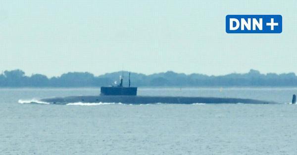 Russisches Atom-U-Boot kreuzt in der Ostsee vor Fehmarn, weitere Manöver geplant