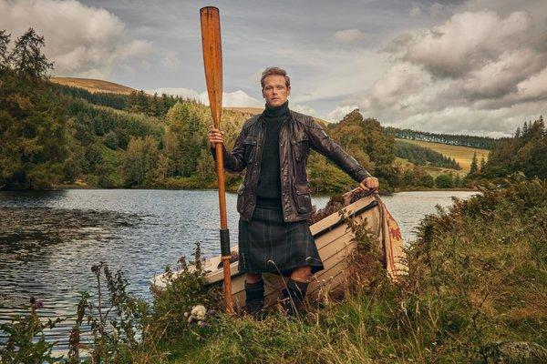 Curiosidades del rodaje de 'Outlander' que Sam Heughan, su protagonista, ha contado en 'Tierra de Clanes'