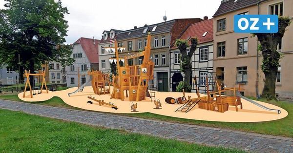 Wismar: So schön wird der Spielplatz an St.Nikolai umgestaltet