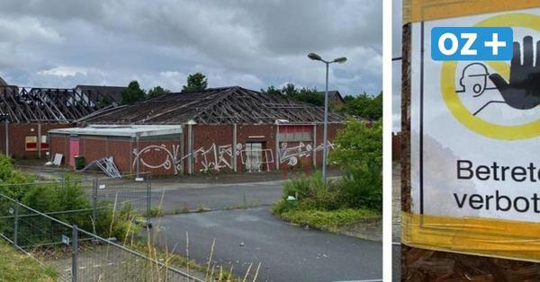 Norma-Brandruine in Wismar: So soll es dort jetzt weiter gehen
