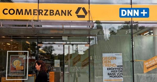 Commerzbank schließt in Dresden zwei Filialen