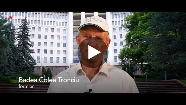 Badea Colea Tronciu visează la o țară în care și copiii săi să aibă un loc sub soare