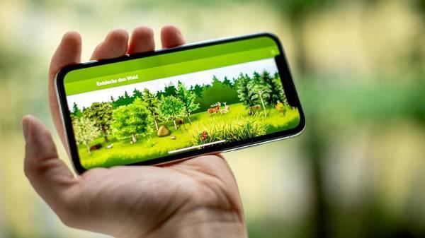 """Mit der """"Waldfibel-App"""" alles rund um den Wald und seine Bewohner erfahren"""