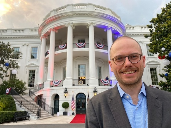 Ein letztes Mal vor dem Weißen Haus. Foto: Fabian Reinbold