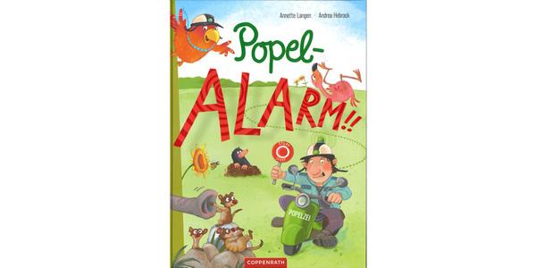 """Cover des Buches """"Popel-Alarm!!"""", erschienen im Verlag Coppenrath"""