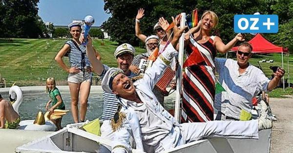 Putbusser Sommerfrische mit Artisten, Gauklern und einem Mitmach-Zirkus für Kinder