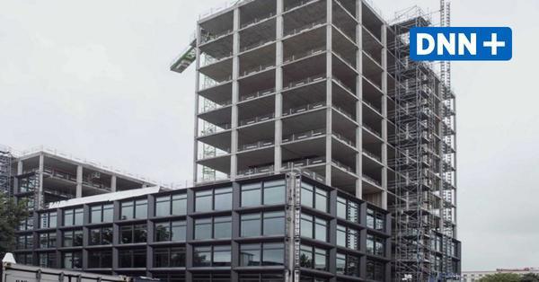 Richtfest für Neubau: Hier entsteht das neue Eingangstor zu Dresden