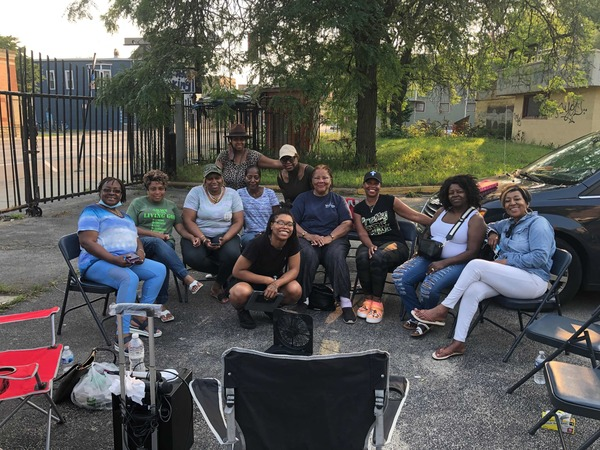 Mothers of children in one of Chicago's most violent neighborhoods go on a hunger strike against violence over the Fourth of July weekend.   Robert Chiarito/AFP via Getty Images