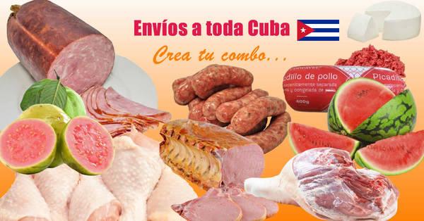 Crea tu propio combo para mandar a Cuba desde esta tienda online