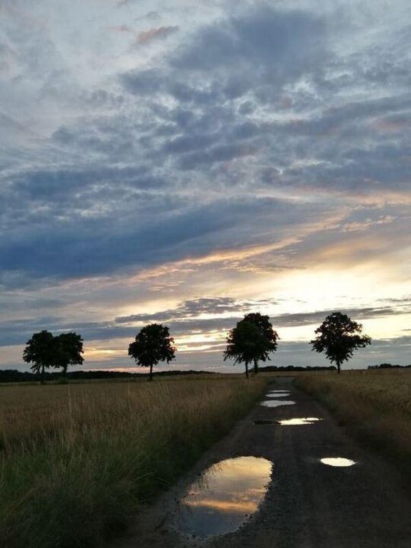 Diesen schönen Himmel über Schaumburg hat Leserin Birgit Wilkening eingefangen.