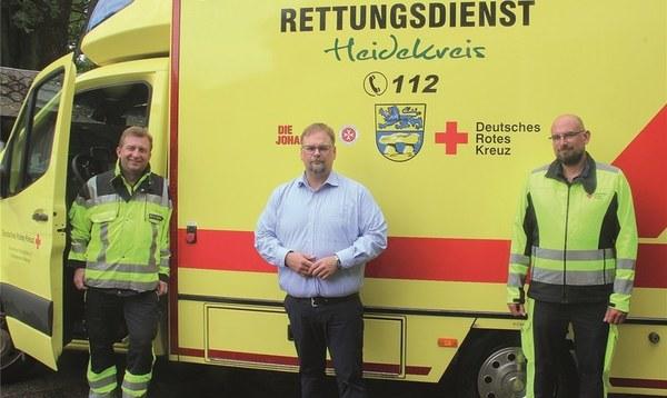 Die Kosten für den Rettungsdienst steigen deutlich - Heidekreis - Walsroder Zeitung