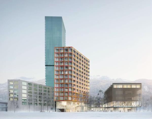 Wird das das neue Zürich-West? Quelle: Sauerbruch Hutton