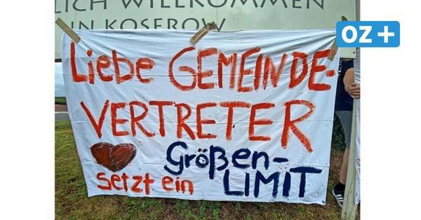 Insel Usedom: Koserower Rewe-Pläne entfachen erneutheftigste Kontroversen