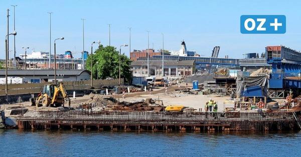 Fährhafen Swinemünde rüstet auf für große Pötte: Zwei Liegeplätze werden kombiniert