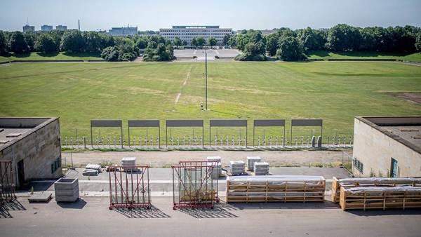 Trockenen Fußes über die Festwiese? Gartendenkmal ist eine harte Nuss für RB Leipzigs Bauplaner