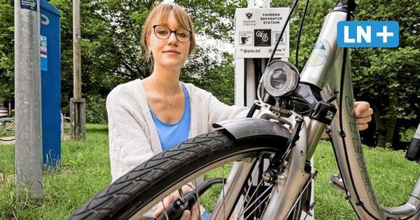 Radler-Selbsthilfe: Lübecks erste Reparaturstation
