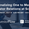 Webinar: Personalizing One to Many: Investor Relations at Scale - 13th July