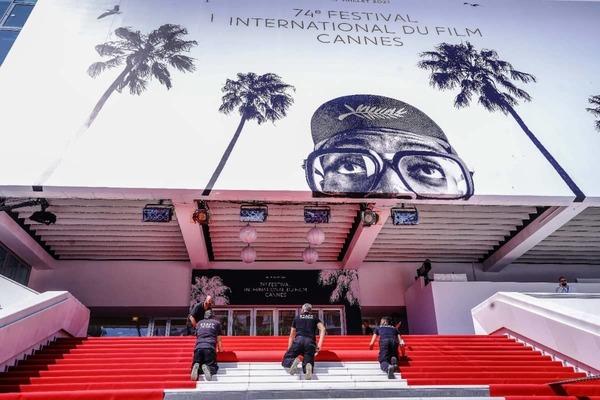 Eindelijk weer glamour op de boulevard van Cannes