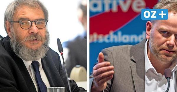 AfD in MV will Rechtsaußen Ralph Weber den Wahlkreis abnehmen – zerbricht die Partei?