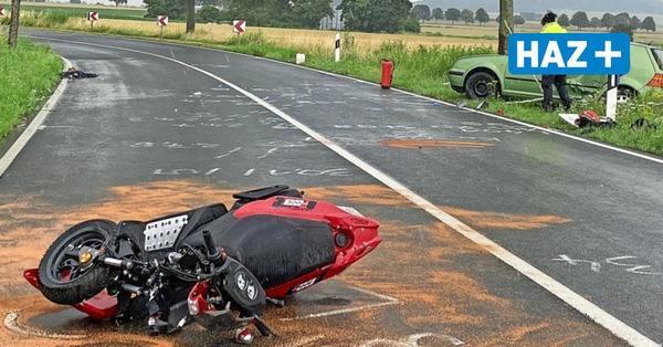 Rollerfahrer wird in Leveste lebensgefährlich verletzt
