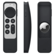 Protective case pairs 2021 Siri Remote with an AirTag so you can't lose it