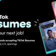 TikTok tests letting US users to apply for jobs with video resumes