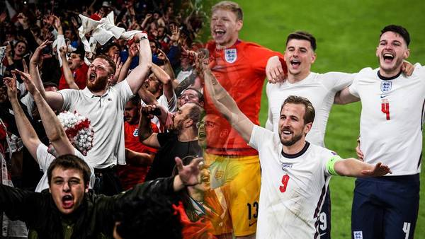 """Sweet Caroline"" statt ""Football's Coming Home"": England-Fans feiern neue Fußball-Hymne"