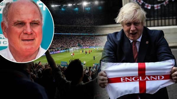 """Uli Hoeneß schimpft vor EM-Finale über England: """"Verhalten sich in jeder Hinsicht unmöglich"""" - Sportbuzzer.de"""