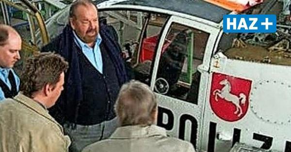 Warum Bud Spencer drei alte Polizei-Hubschrauber aus Hannover gekauft hat