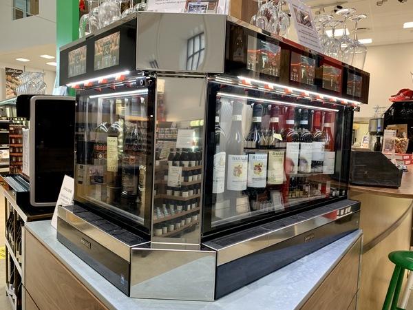 Installation i Supermarco i København