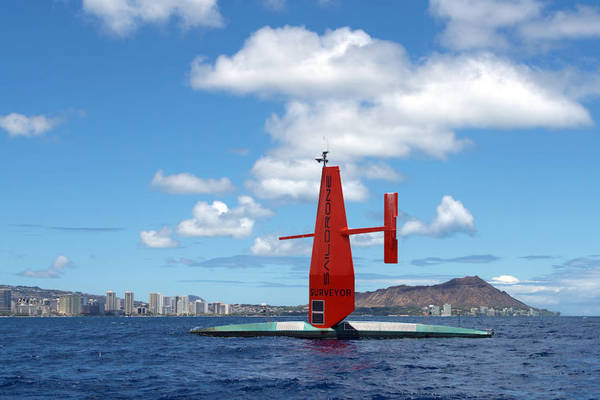 Remote-operated Saildrone completes maiden voyage from San Francisco to Honolulu to map ocean floor