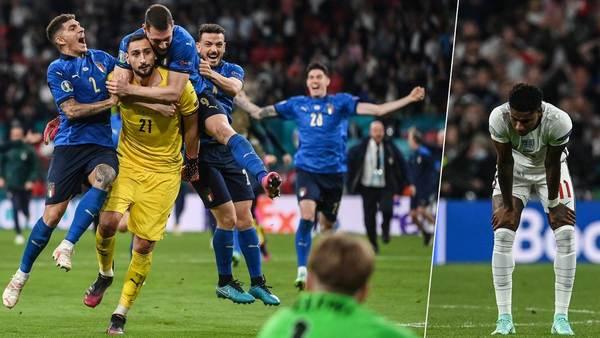 Rashford, Sancho und Saka verschießen: Italien nach Elfmeter-Drama gegen England Europameister