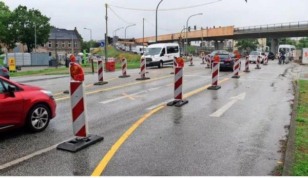 Baustellen in Potsdam. Foto: Bernd Gartenschläger