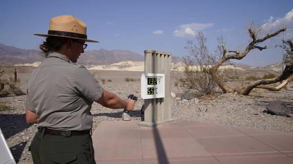 Weiter extreme Hitze im Westen der USA - über 53 Grad imDeath Valley