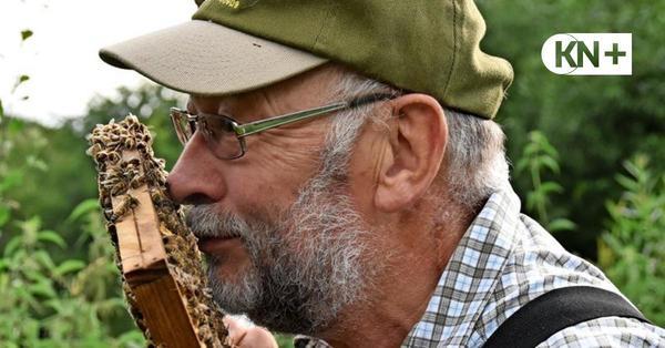 Imker Gerhard Heide aus Krokau: Honigbienen geht es gut